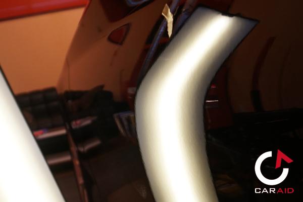 After デントリペアでドアのヘコミを修理  BMW 2シリーズ カブリオレ(F23)