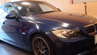 雹被害BMW325
