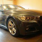 デントリペア作業を行った「BMW 3シリーズ」の画像