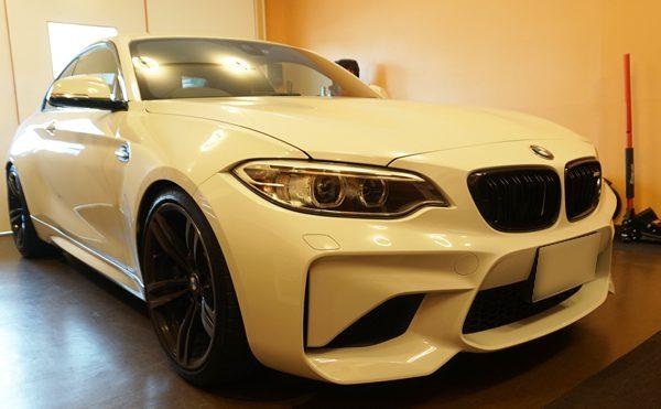 BMW M2 チッピング施工車