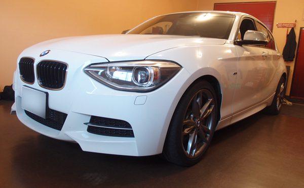BMW1シリーズチッピング