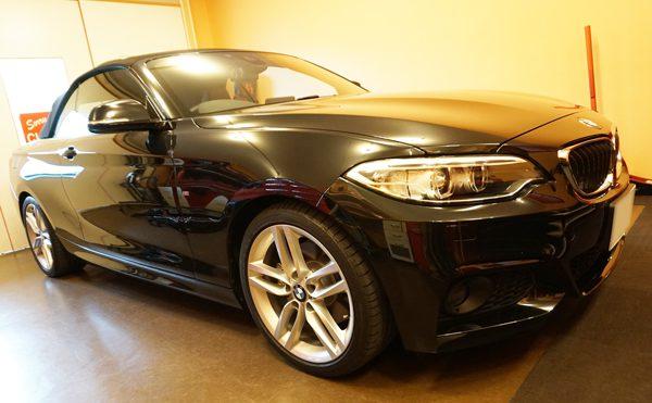 BMW2シリーズデントリペア施工