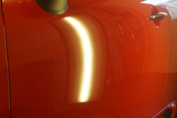 BMWミニデントリペア施工例